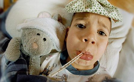 מה עושים עם ילד חולה?